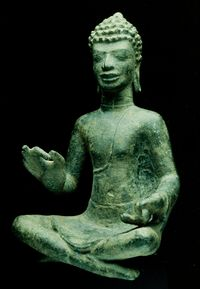 Seated Buddha from Thailand tenth century