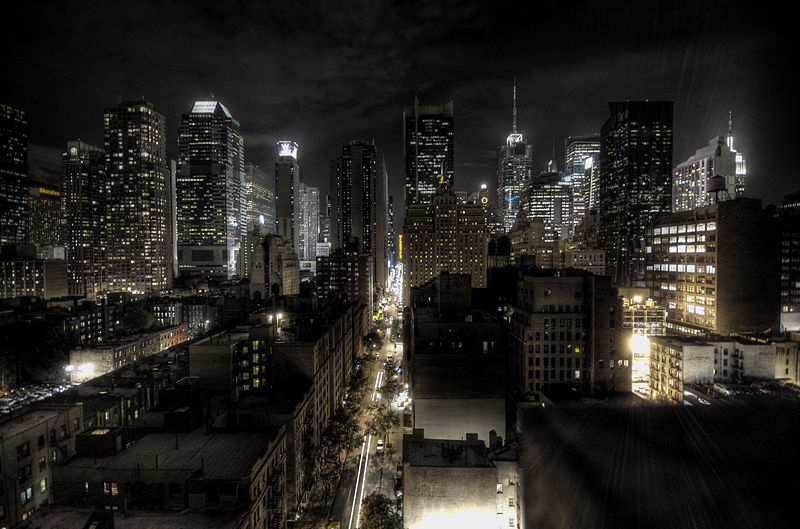 Fichier:New York City at night HDR.jpg