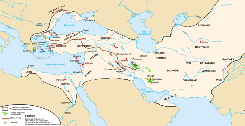 De Zoroastre au platonisme Carte_de_l%27Empire_perse_ach%C3%A9m%C3%A9nide
