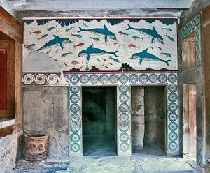 L ile aux enfants 1974 1976 australianpiratebay for Dolphin mural knossos