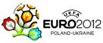 Logo du championnat d'Europe de football 2012  Slogan officiel: Ensemble, écrivons l'Histoire