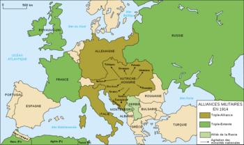 alliances entre les pays