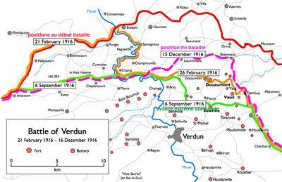 bataille de verdun carte Bataille de Verdun   Vikidia, l'encyclopédie des 8 13 ans