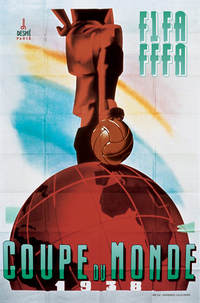 Logo de la Coupe du monde de football 1938