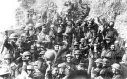 US 64th regiment celebrate the Armistice.jpg