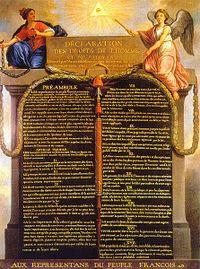 Léon Dubois : la foi catholique doit être à l'écart de la politique 200px-Declaration_des_droits_de_l%27homme_et_du_citoyen