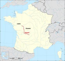 Vienne rivi re vikidia l encyclop die des 8 13 ans for Habitat de la vienne chatellerault