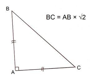Triangle Rectangle Isocele Vikidia L Encyclopedie Des 8 13 Ans