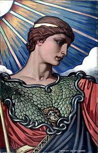 Minerve (mythologie) - Vikidia, l'encyclopédie des 8-13 ans