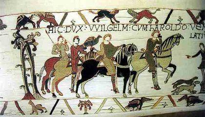 Tapisserie De Bayeux Vikidia L Encyclopedie Des 8 13 Ans