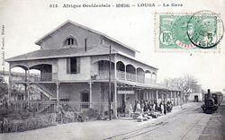 Gare - Louga - Sénégal - 1908.JPG