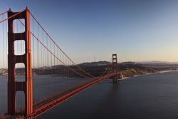 Le Golden Gate Bridge, à San Francisco