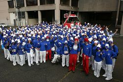 Smurfs World Record attempt Hull.jpg