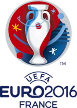 Logo de championnat d'Europe de football 2016