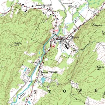 Carte topographique en courbes de niveau   Vikidia, l'encyclopédie