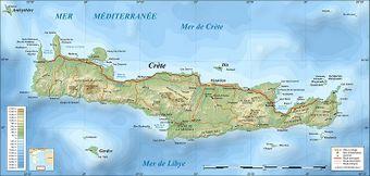 Carte Crete Minoenne.Crete Vikidia L Encyclopedie Des 8 13 Ans