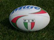 photographie d'un ballon actuel de rugby