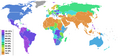 Christianity percentage by country.PNG
